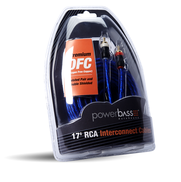 ARCA-17  17' RCA Cables