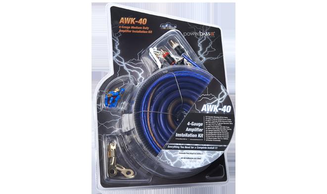 AWK-40 4ga Wiring Kit
