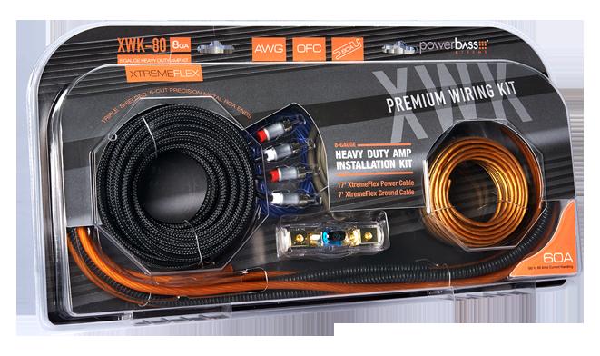 XWK-80 8ga Wiring kit