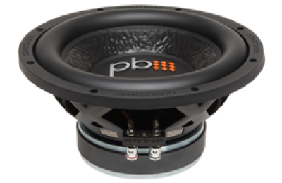 Powerbass M-1004D 10-Inch Dual 4 Ohm Subwoofer 650W Max