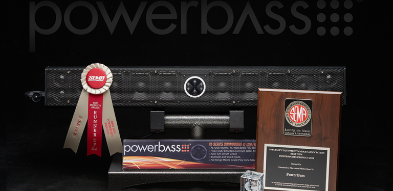 PowerBass wins multiple awards at the SEMA Show