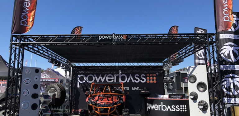 PowerBass at the 2018 Sand Sports Supershow