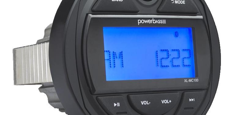 PowerBass MC-100 Marine Radio with Bluetooth